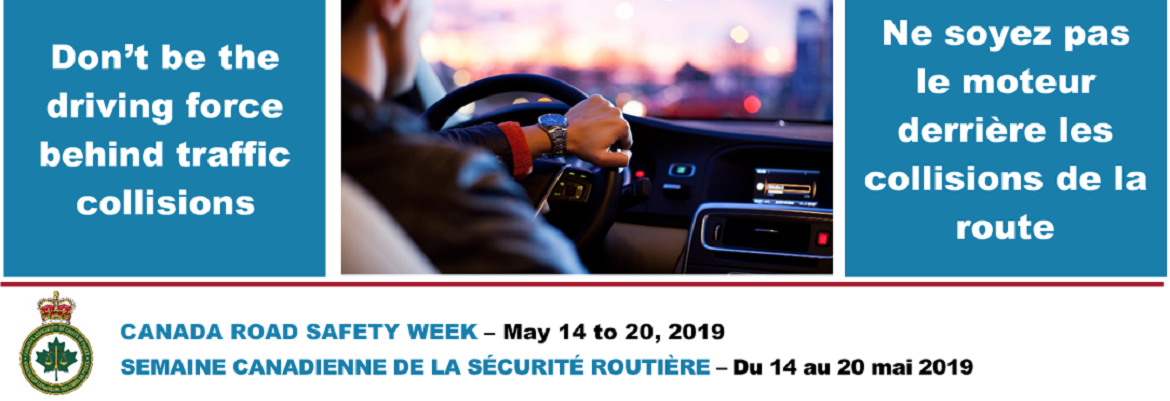 Canada Road Safety Week 2019